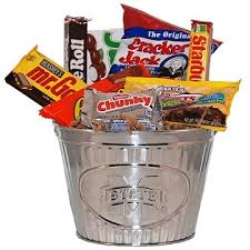 Snack Gift Baskets State Snack Bucket Gift Basket