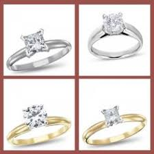 rogers jewelers engagement rings yellow or white solitaire engagement ring http www