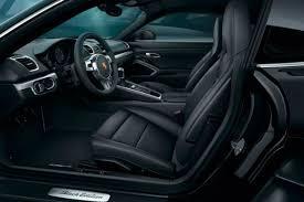 Porsche Cayman Interior 2017 Porsche Cayman Black Edition Features And Details