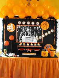 basketball party table decorations basketball theme party party ideas pinterest basketball party