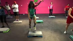 hip hop step aerobics video 2 by pgr family cardio club youtube
