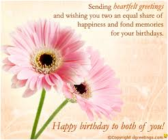 happy birthday twins cards download free wishes for boys and girls