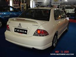 mitsubishi lancer cedia mitsubishi cedia motorbeam indian car bike news review price