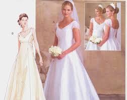 wedding dress patterns wedding gown pattern etsy