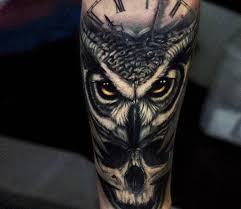 Owl Tattoos - best 25 owl skull tattoos ideas on sugar skull owl