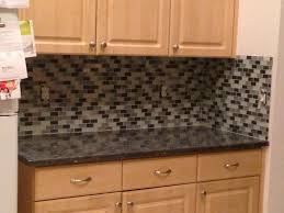 no backsplash in kitchen cabinet spice organizers brown granite