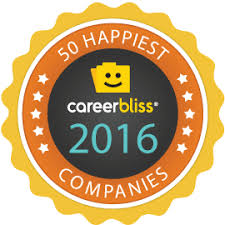 Happiest States 2016 Careerbliss 50 Happiest Companies In America For 2016 Careerbliss