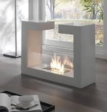 living room modern bioethanol fireplace free standing wall