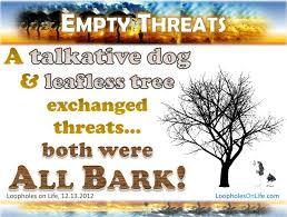 inspire all bark no bite loopholes on