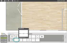 display inside wall measurements on floor plans web