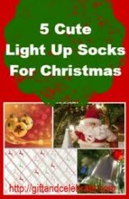 catchy collections of light up christmas socks perfect homes