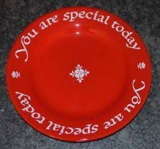you are special today plate california pottery china dinnerware ebay