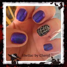 halloween monster nails shellac halloween nails my creations pinterest pretty nails