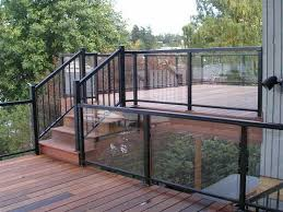 Glass Patio Fencing Best 25 Glass Railing System Ideas On Pinterest Glass Railing