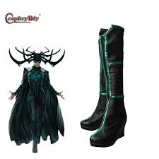 Halloween Costume Boots Aliexpress Buy Cosplaydiy Thor 3 Ragnarok Cosplay Trailer