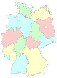 map of regions of germany free illustration germany länder regions germany free image on