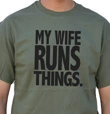 wedding gift my wife runs things t shirt christmas gift mens t