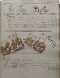 objects of intrigue 18th century ship u0027s instruction manual