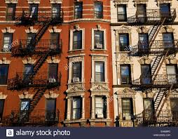 new york city brownstone tenement buildings new york united