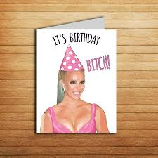 britney spears card printable best friend birthday card for