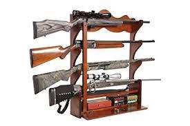 american furniture classics 16 gun cabinet amazon com american furniture classics 840 4 gun wall rack medium