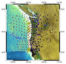 physical map of oregon juan de fuca plate cascade initiative background cascadia initiative expedition team