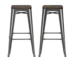 Counter Stool Backless Dhp Furniture Fusion 30