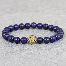 beads bracelet designs images 2015 new design gem beaded bracelets 8mm blue lapis lazuli stone jpg