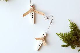 snowman clothespin ornament tutorial factory direct craft