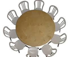 60 inch round table seats banquet round tables