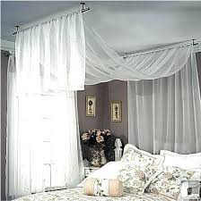 curtain over bed fabric draped interiors google search home inspirations curtain over