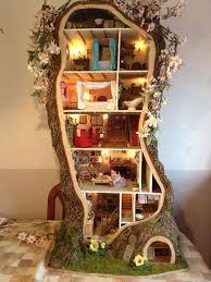 tiny designer tree houses miniature tree house