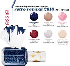 nail news essie retro revival 2016 collection the trendy nail
