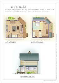 living off grid house plans escortsea the ecofit simple open floor plan passive solar living