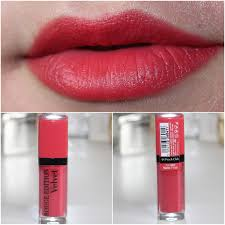 Lipstik Inez No 6 obsessed by review bourjois edition velvet lipstick