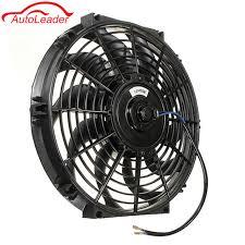 electric radiator fans car universal 12 12v 80w slim reversible electric radiator