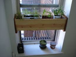 window planters indoor herb planter box for the kitchen easy install herb planter box