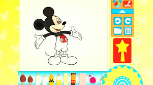 disney mickey mouse coloring pages app color u0026 play for kids