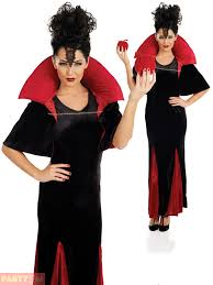 ladies evil queen hallowee costume snow white wicked stepmother