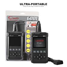 new launch cr6001 code reader full obdii eobd diagnostic functions