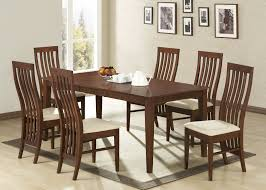 apartments elegant design for modern all wood dining room sets