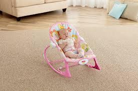 Infant Toddler Rocking Chair Baby Bouncer Seat Newborn Infant Toddler Rocker Vibration