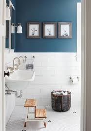 bathroom wall painting ideas boy bathroom with peacock blue wall paint color transitional