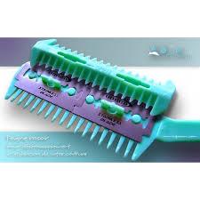 peigne coupe cheveux peigne rasoir désépaississant lame adjocom