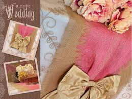 how to make table runner at home how to make a burlap table runner best home ideas