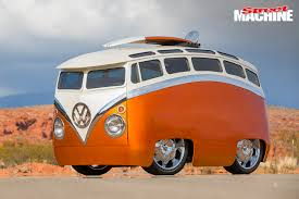 volkswagen van transparent video ron berry u0027s crazy u0027surf seeker u0027 vw kombi bus street machine
