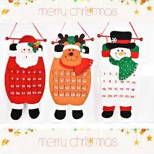 christmas countdown calendar aliexpress buy christmas countdown calendar santa claus