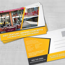 Century Awning Nyc Awning Company Marketing Material Postcard Flyer Or Print