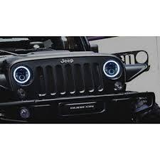 halo jeep wrangler halo headlight