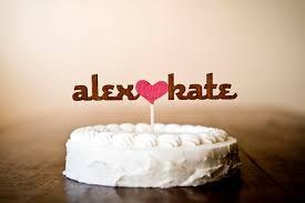 wedding cake name wedding cake topper inspiration united with